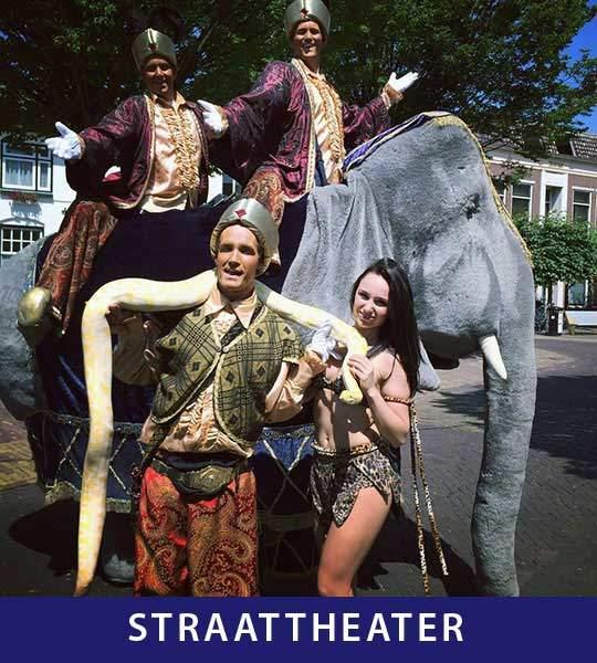 Jumbo entertainment straattheater